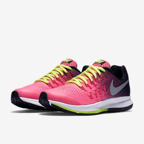 huge discount f6d0f ae4c5 Nike Zoom Pegasus Running Shoes Pink Ombre volt 33.  M5aad437545b30c2a310eb500